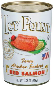 Icy Point Fancy Alaskan Sockeye Red Salmon