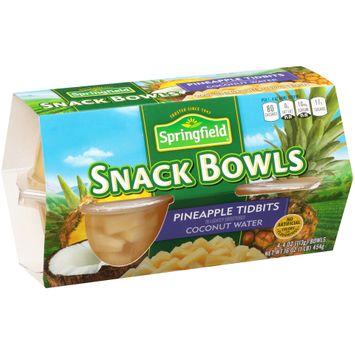 Springfield® Pineapple Tidbits Snack Bowls