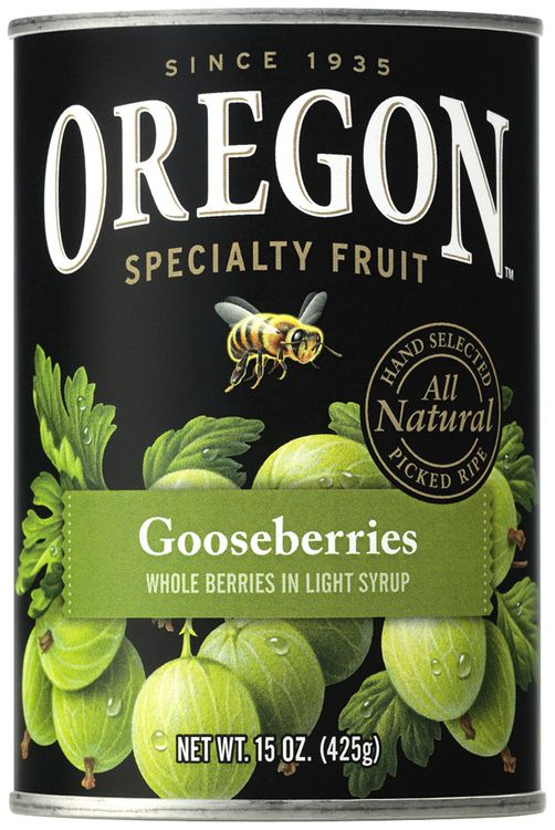 Oregon Fruit Products® Gooseberries in Light Syrup