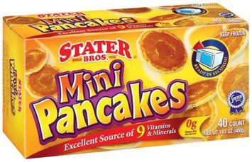 Stater bros Mini Pancakes