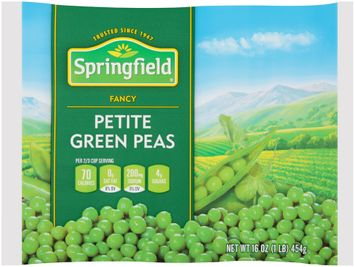 springfield® fancy petite green peas