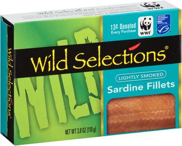 Wild Selections® Lightly Smoked Sardine Fillets