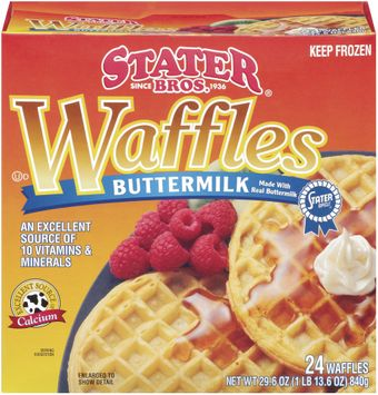 Stater bros Buttermilk 24 Ct Waffles