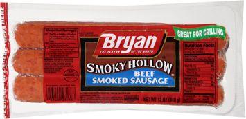Bryan® Smoky Hollow® Beef Smoked Sausage
