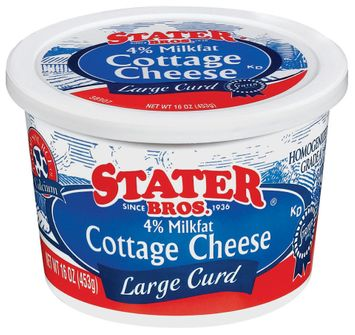 Stater bros Large Curd Cottage Cheese