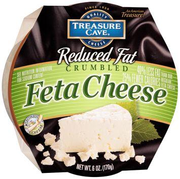 Treasure Cave® Reduced Fat Crumbled Feta Cheese