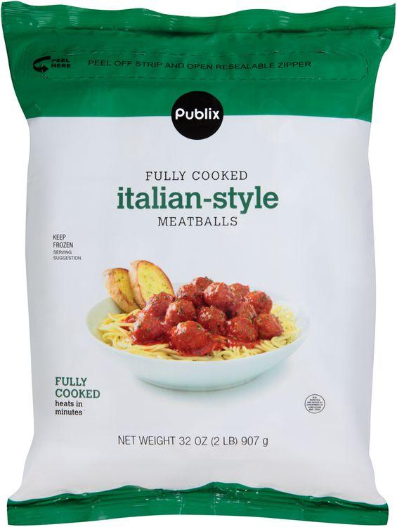 publix italian-style meatballs
