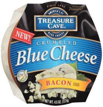Treasure Cave® Bacon Flavor Crumbled Blue Cheese