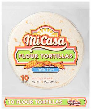 mi casa® fajita style flour tortillas
