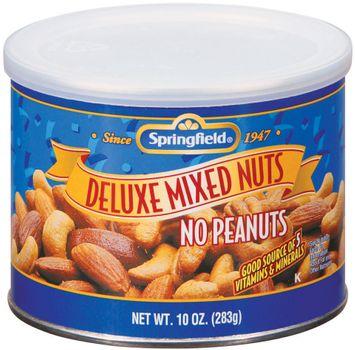Springfield Deluxe Mixed No Peanuts nuts