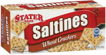 Stater bros Wheat Saltines Crackers