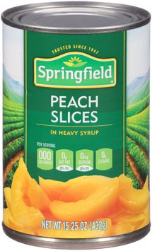 Springfield® Peach Slices in Heavy Syrup