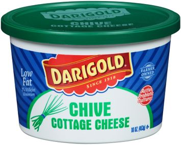Darigold® Chive Low Fat Cottage Cheese