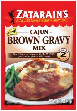 Zatarain's® Cajun Brown Gravy Mix