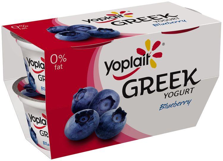 Yoplait® Greek Blueberry Fat Free Yogurt