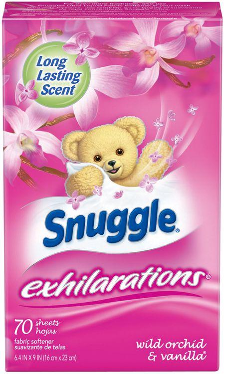 Snuggle® Exhilarations® Wild Orchid & Vanilla® Fabric Softener Dryer Sheets 70 ct Box