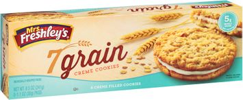 mrs Freshley's® 7 Grain Creme Cookies