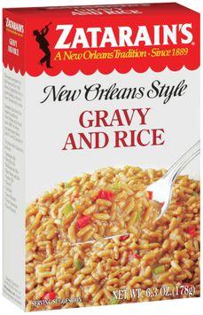 Zatarain's® Gravy and Rice Mix