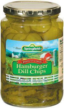 Springfield Hamburger Dill Chips Pickles