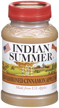 Indian Summer Old Fashioned Cinnamon Apple Sauce