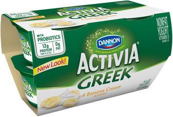 Activia® Banana Cream Nonfat Greek Yogurt