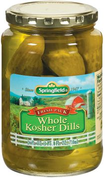 Springfield Whole Kosher Dills Pickles