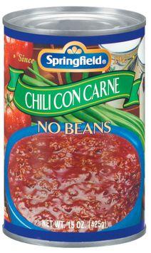 Springfield No Beans Chili Con Carne