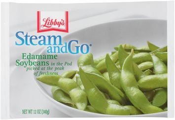 libby's® steam & go® edamame soybeans in the pod