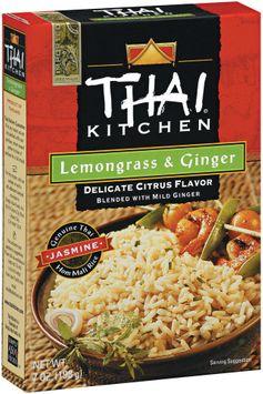 Thai Kitchen TK Lemongrass & Ginger Jasmine Rice Jasmine Rices