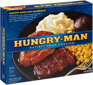 Hungry-Man® Smokin' Backyard Barbeque™