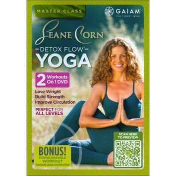 Gaiam Seane Corn: Detox Flow Yoga - DVD