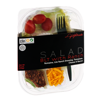 Lifestyle Foods Salad BLT with Ranch