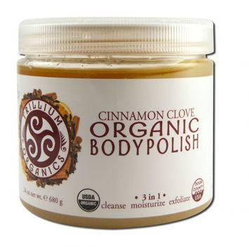 Trillium Organics - Organic Body Polish Warming Cinnamon Clove - 24 oz.