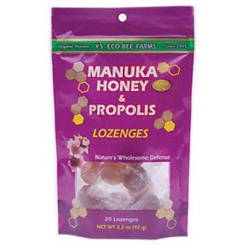 Ys Royal Jelly/honey Bee Manuka Honey And Propolis Lozenges