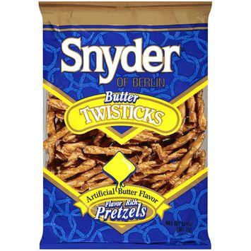 Snyder of Berlin Twisticks Butter Pretzels, 12 oz
