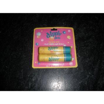 dipping dots Banana Split Flavored Lip Balm, 0.30 Oz, 2 pack
