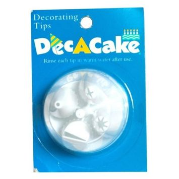 Dec A Cake Dec-A-Cake Decorating Heads, 1-count (Pack of 12)