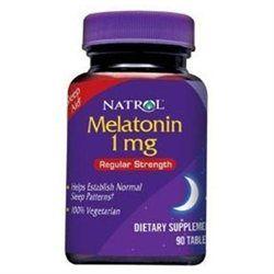 Natrol Melatonin Time Release - 1 mg - 90 Tablets