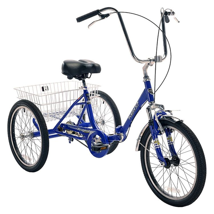 "Kent International Inc 20"" Westport Adult Tricycle Folding"