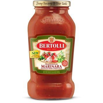 Bertolli® Traditional Marinara with Italian Herbs & Fresh Garlic Sauce
