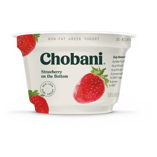 Chobani® Fruit On The Bottom Strawberry