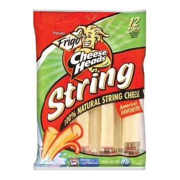 Saputo Usa Frigo Cheese Heads String Cheese 12 oz 12 pk
