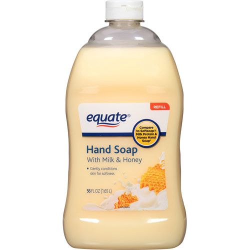 Generic Equate Liquid Hand Soap with Milk & Honey Refill, 56 fl oz