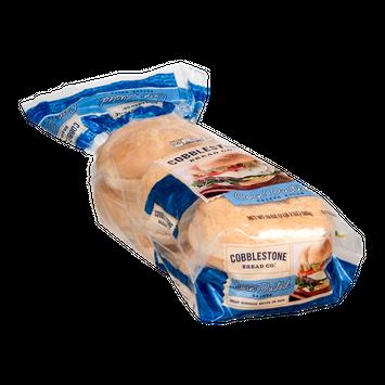 Cobblestone Bread Co. Kaiser Rolls Corn Dusted - 6 CT