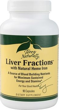 EuroPharma - Terry Naturally Liver Fractions with Natural Heme Iron - 90 Capsules