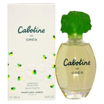 Gres Cabotine by Gres for Women 3.4 oz EDT Spray - LABORATORIOS ROMOGO S.A.