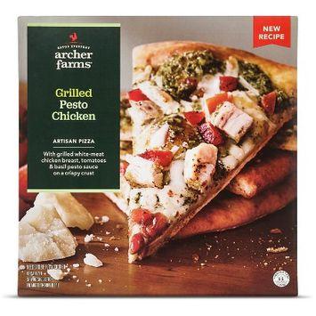 Archer Farms \Grilled Chicken Pesto Pizza 11.5 oz
