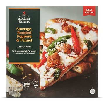 Archer Farms Sausage Roasted Peppers & Fennel Pizza 13 oz