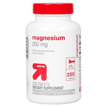 Perrigo up & up Magnesium 250 mg Tablets - 200 Count