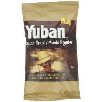 Mr. Coffee Yuban Regular Roast Ground Coffee, 1.1-Ounce Packages (Pack of 42)